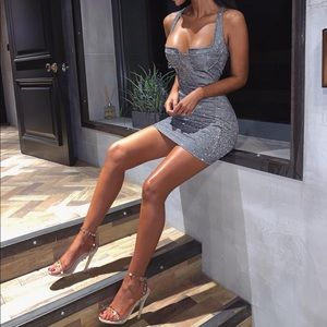 Dresses & Skirts - Sparkly mini dress